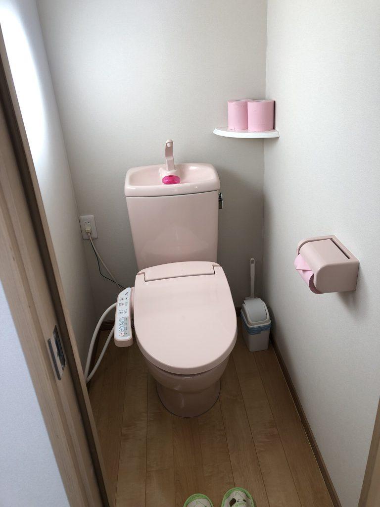 トイレ ペンション陽のあたる場所